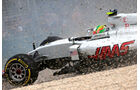 Esteban Gutierrez - GP Australien - Crash - 2016