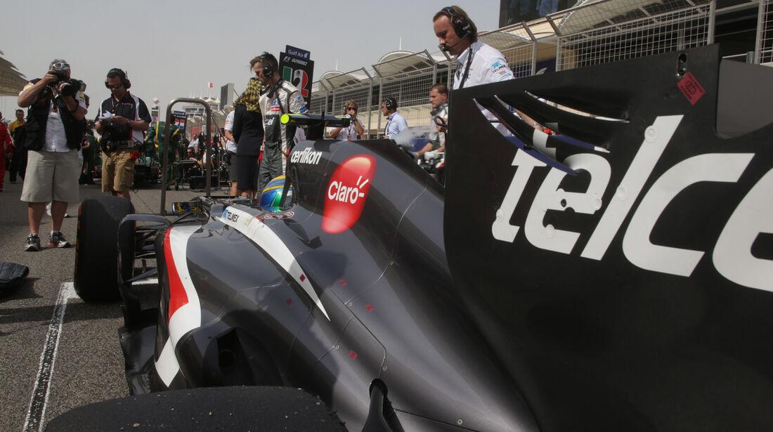 Esteban Gutierrez - GP Bahrain 2013