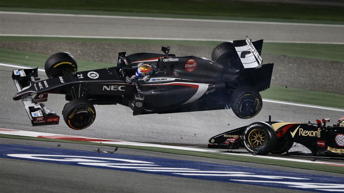 Esteban Gutierrez - GP Bahrain 2014