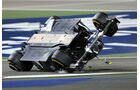 Esteban Gutierrez - GP Bahrain - Crashs 2014