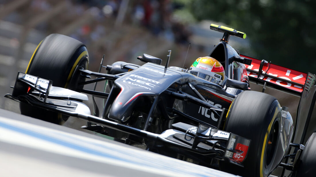 Esteban Gutierrez - GP Brasilien 2014
