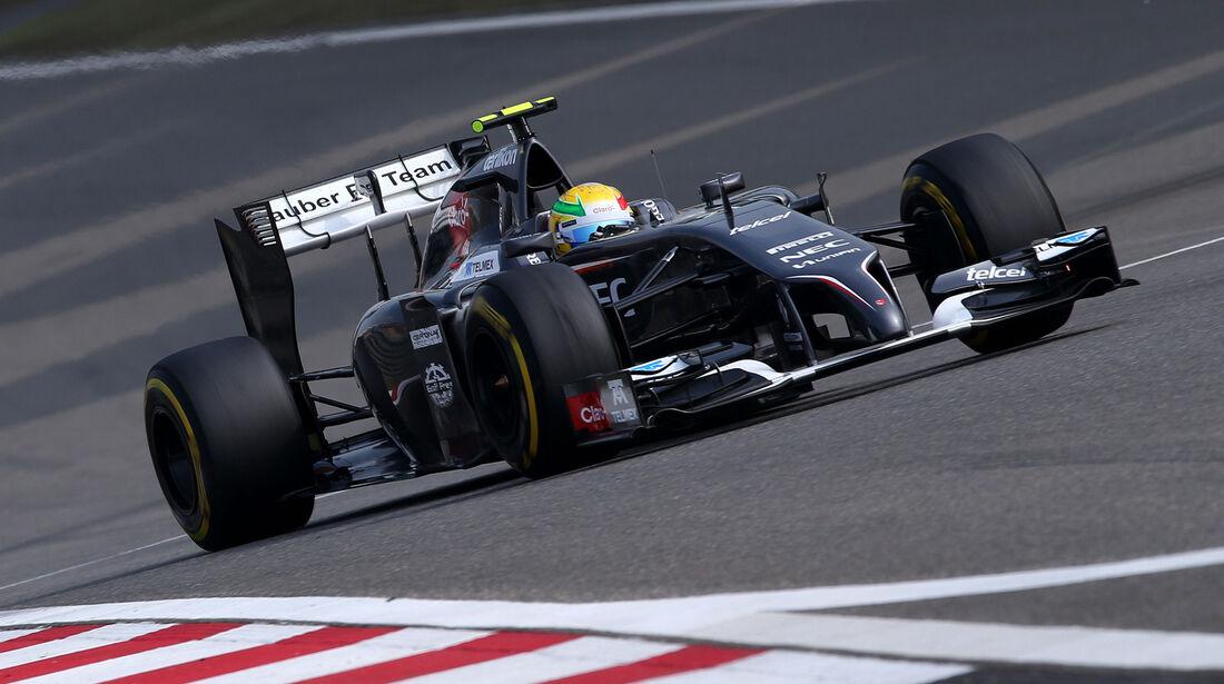 Esteban Gutierrez - GP China 2014