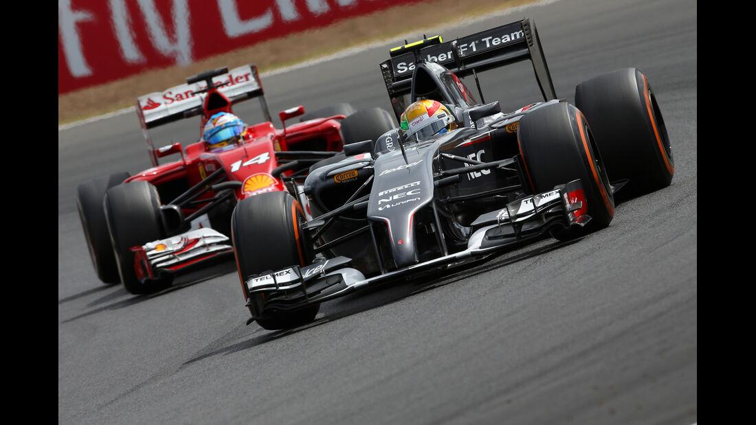 Esteban Gutierrez - GP England 2014