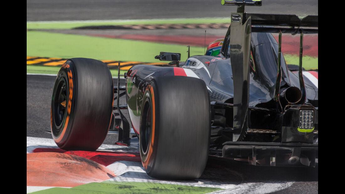Esteban Gutierrez - GP Italien 2014