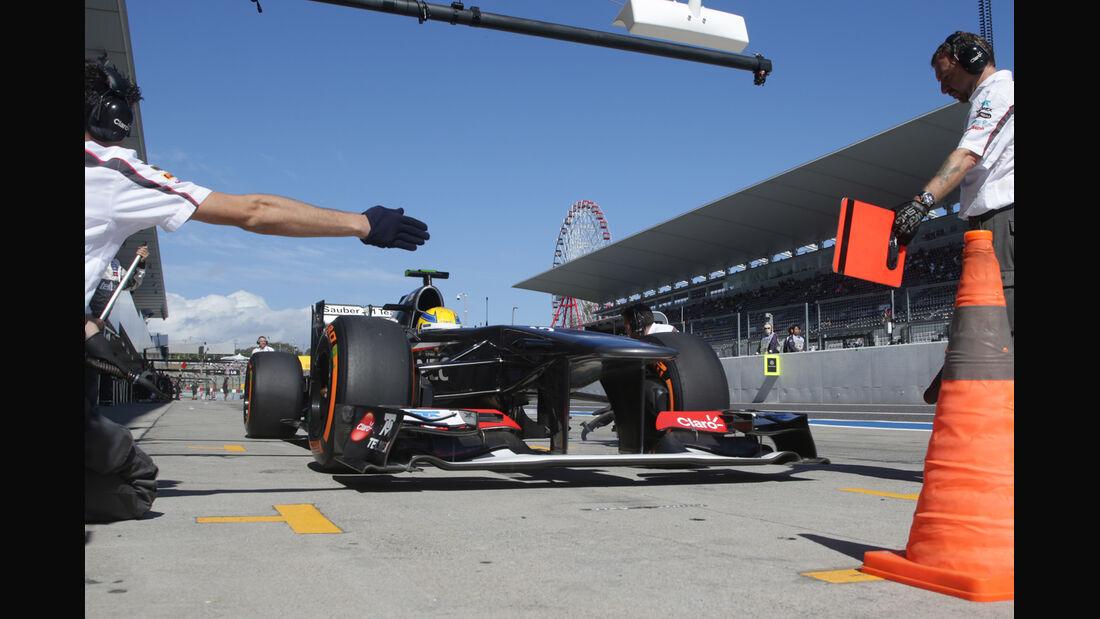 Esteban Gutierrez - GP Japan 2013