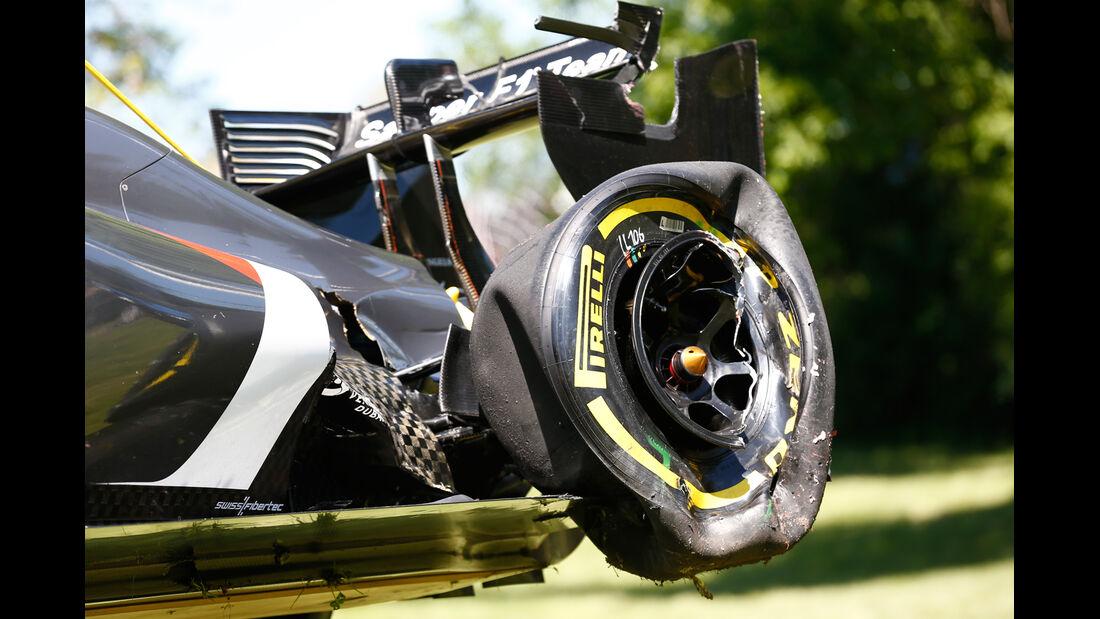 Esteban Gutierrez - GP Kanada - Crashs 2014