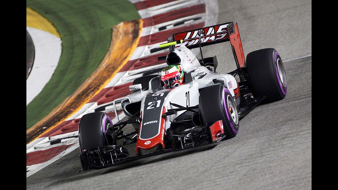 Esteban Gutierrez - GP Singapur 2016
