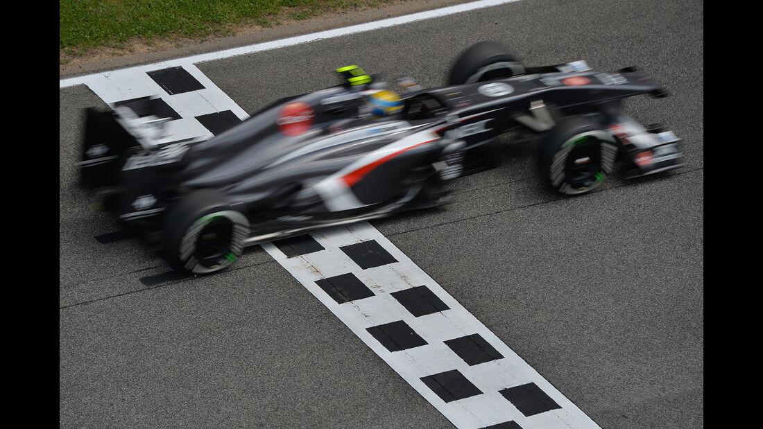 Esteban Gutierrez - GP Spanien 2013