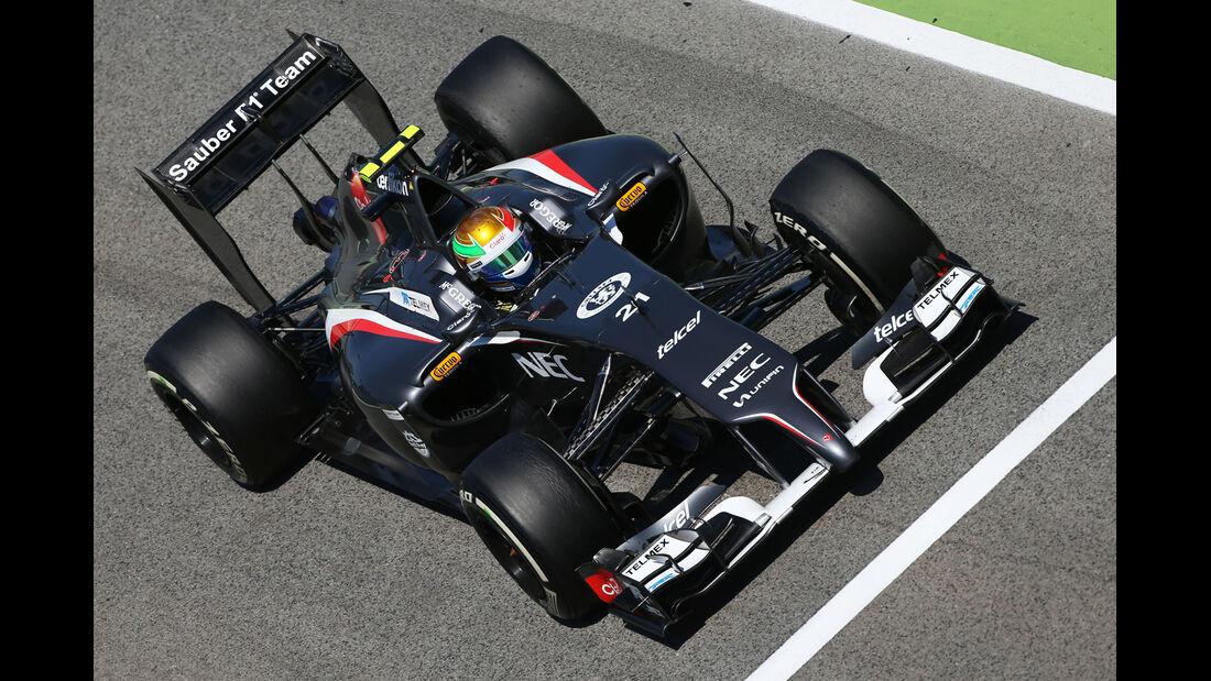 Esteban Gutierrez - GP Spanien 2014
