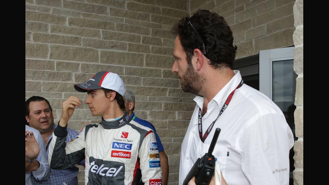 Esteban Gutierrez - GP USA 2013