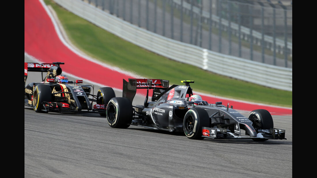 Esteban Gutierrez - GP USA 2014