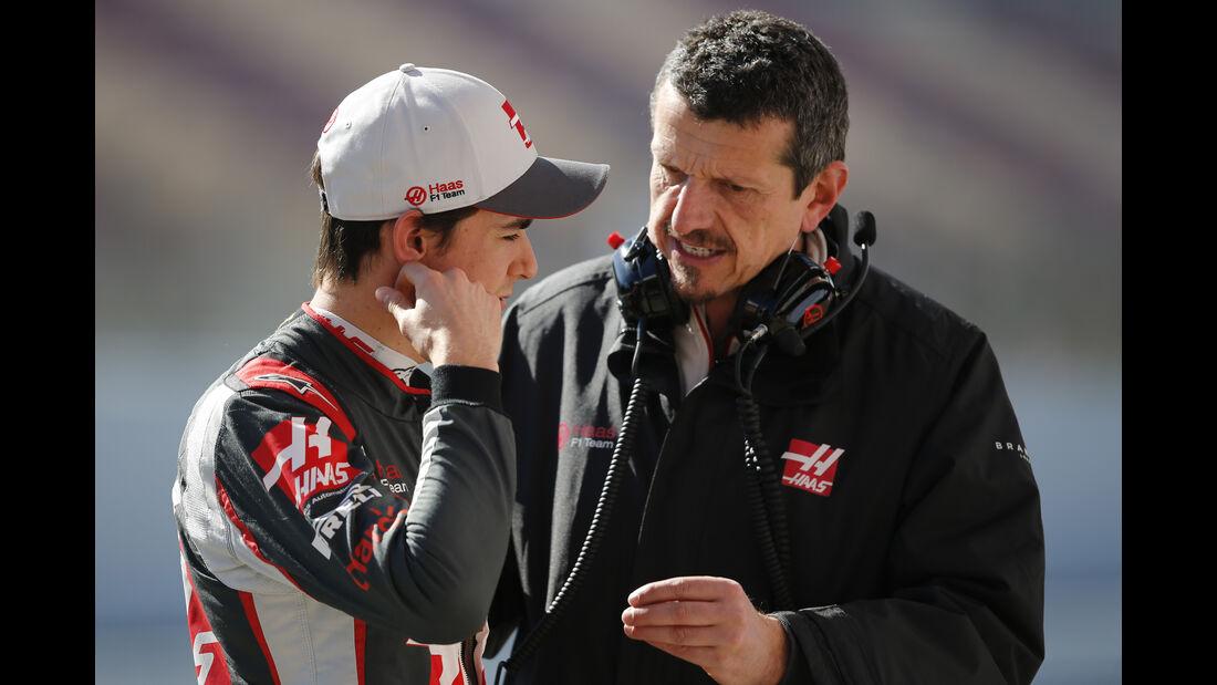 Esteban Gutierrez & Guenther Steiner - Haas F1 - Barcelona - Formel 1-Test - 1. März 2016