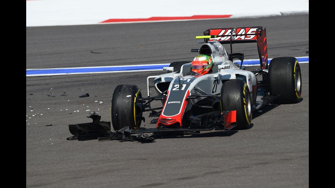 Esteban Gutierrez -Haas F1 - Formel 1 - GP Russland - 1. Mai 2016