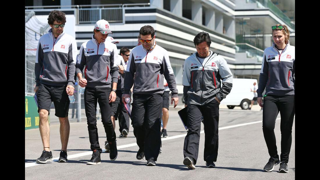 Esteban Gutierrez - Haas F1 - Formel 1 - GP Russland - 28. April 2016
