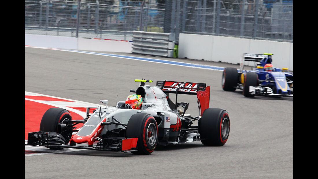 Esteban Gutierrez - Haas F1 - Formel 1 - GP Russland - 30. April 2016