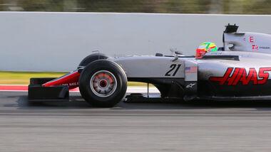 Esteban Gutierrez - Haas F1 - Formel 1-Test - Barcelona - 25. Februar 2016