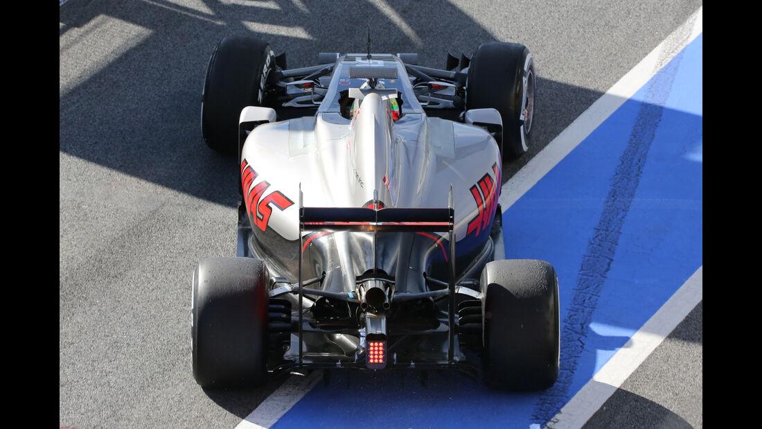 Esteban Gutierrez - HaasF1 - Barcelona - Formel 1-Test - 1. März 2016