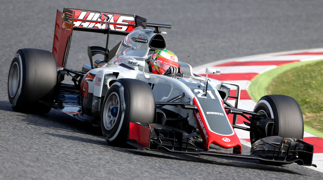 Esteban Gutierrez - HaasF1 - Barcelona Test 2 - 18. Mai 2016