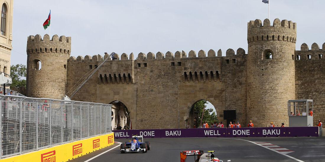 Esteban Gutierrez - HaasF1 - Formel 1 - GP Aserbaidschan - Baku - 18. Juni 2016. Juni 2016