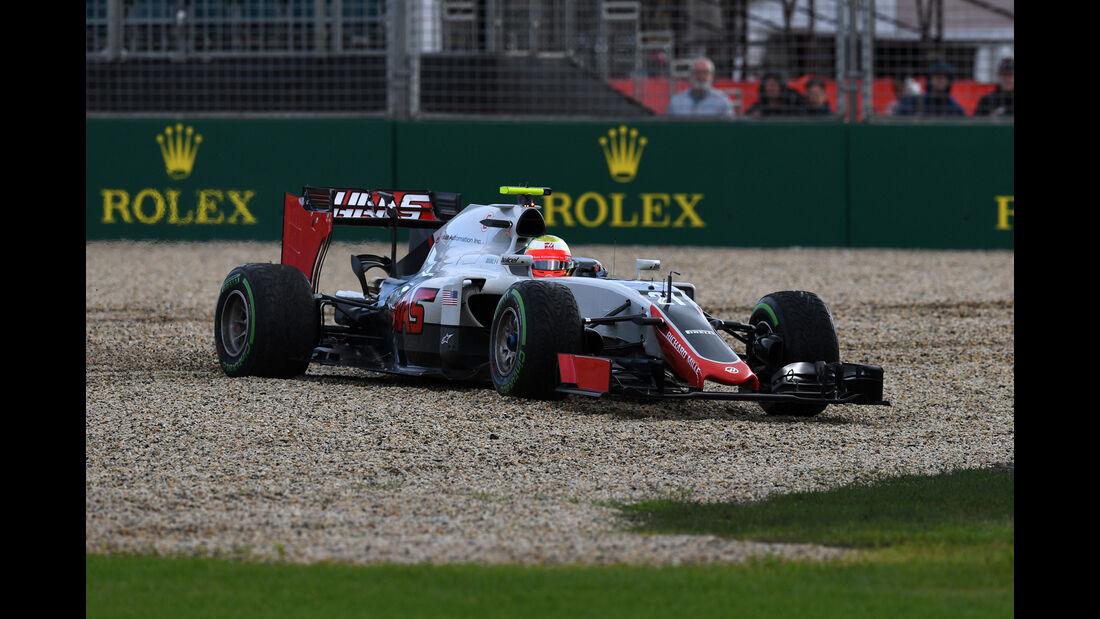 Esteban Gutierrez - HaasF1 - Formel 1 - GP Australien - Melbourne - 18. März 2016