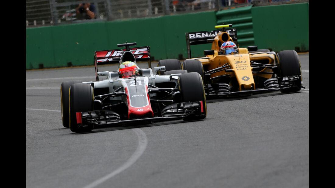 Esteban Gutierrez - HaasF1 - Formel 1 - GP Australien - Melbourne - 19. März 2016