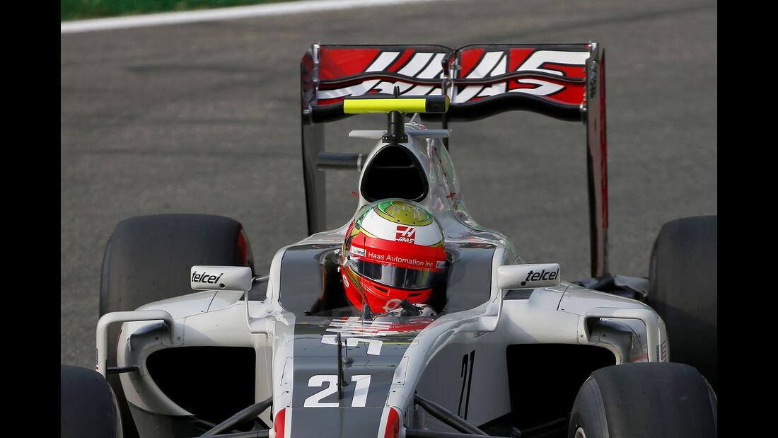 Esteban Gutierrez - HaasF1 - Formel 1 - GP Italien - Monza - 2. September 2016