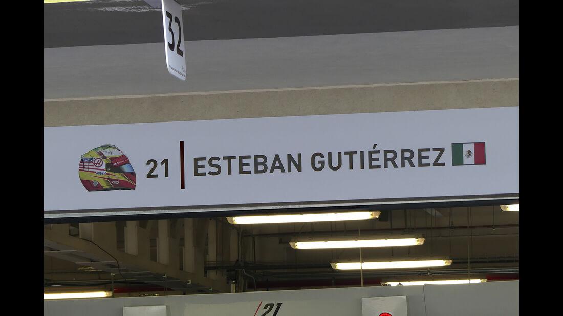 Esteban Gutierrez - HaasF1 - Formel 1 - GP Mexiko - 26. Oktober 2016