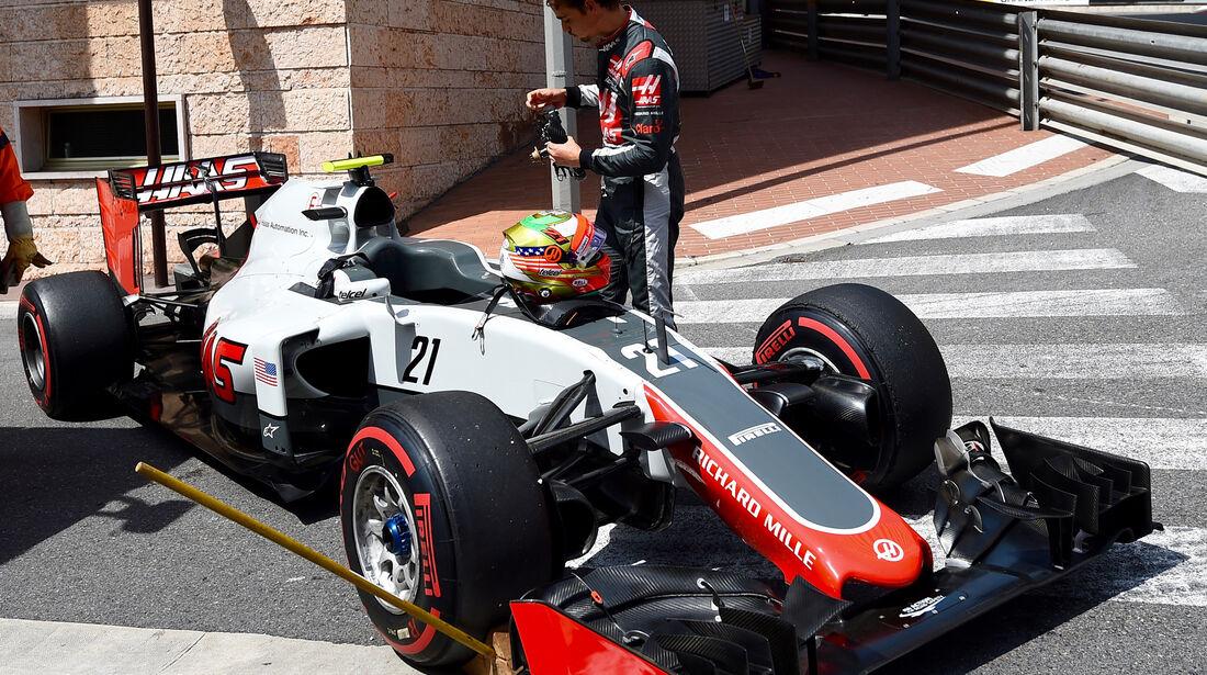 Esteban Gutierrez - HaasF1 - Formel 1 - GP Monaco - 26. Mai 2016
