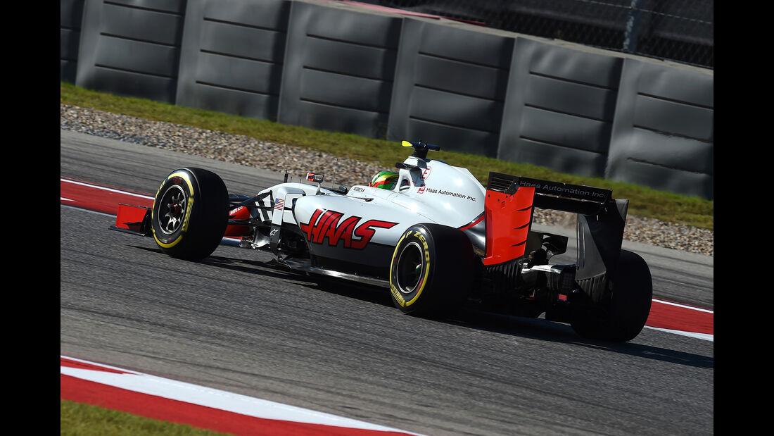 Esteban Gutierrez - HaasF1 - Formel 1 - GP USA - Austin - 21. Oktober 2016
