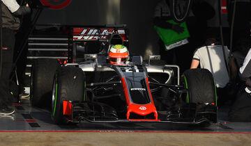 Esteban Gutierrez - HaasF1 - Formel 1-Test - Barcelona - 25. Februar 2016