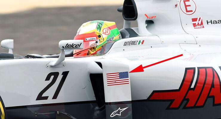 Esteban Gutierrez - HaasF1 - GP Bahrain 2016