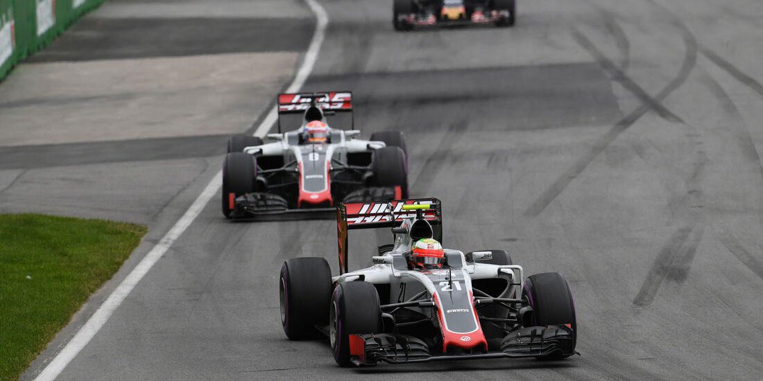 Esteban Gutierrez - HaasF1 - GP Kanada 2016 - Montreal