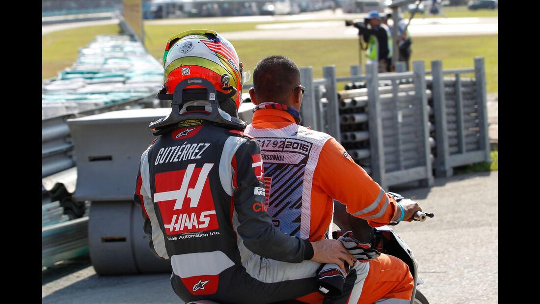 Esteban Gutierrez - HaasF1 - GP Malaysia 2016 - Sepang