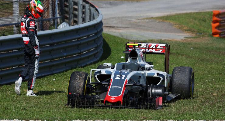 Esteban Gutierrez - HaasF1 - GP Malaysia 2016