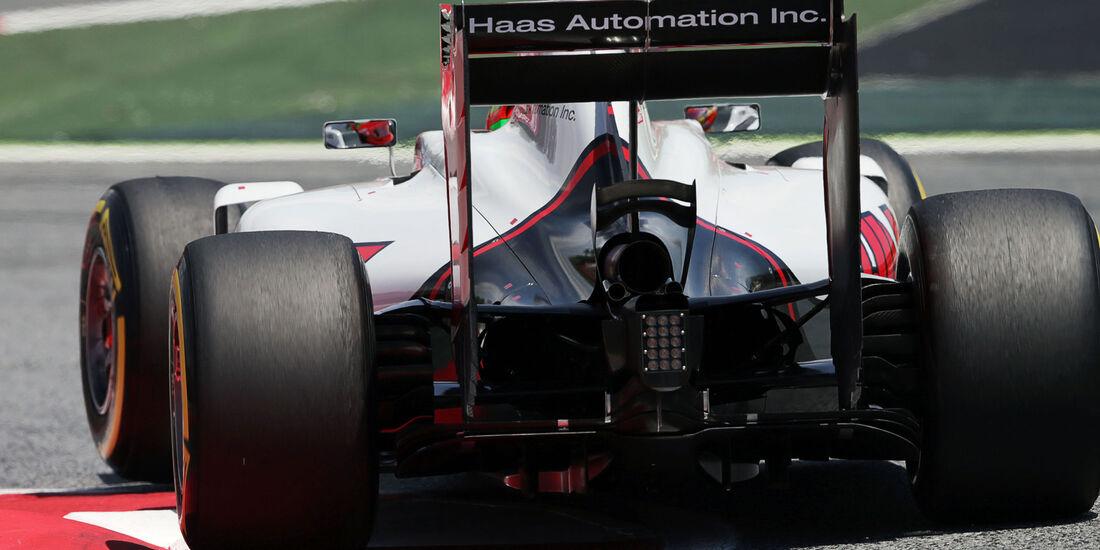 Esteban Gutierrez - HaasF1 - GP Spanien 2016 - Qualifying - Samstag - 14.5.2016