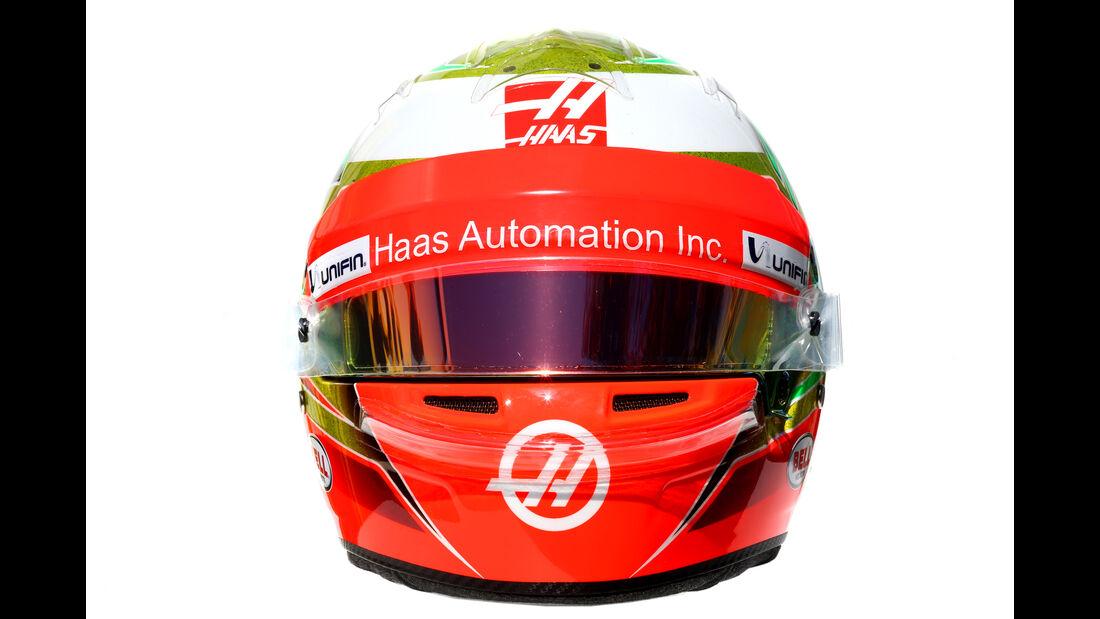 Esteban Gutierrez - HaasF1 - Helm - Formel 1 - 2016