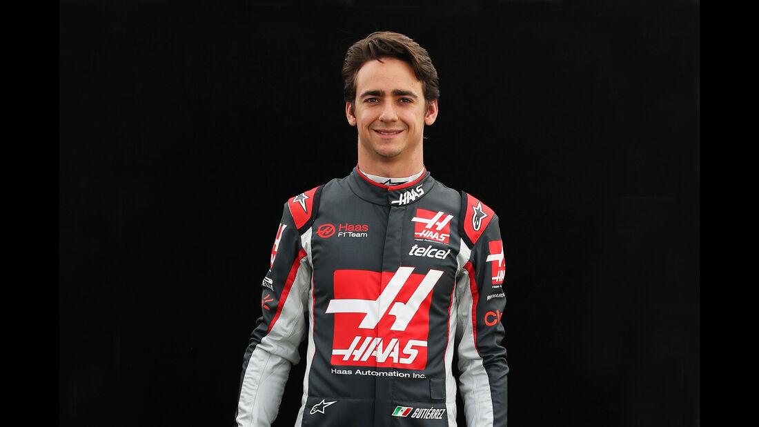 Esteban Gutierrez - HaasF1 - Porträt - Formel 1 - 2016