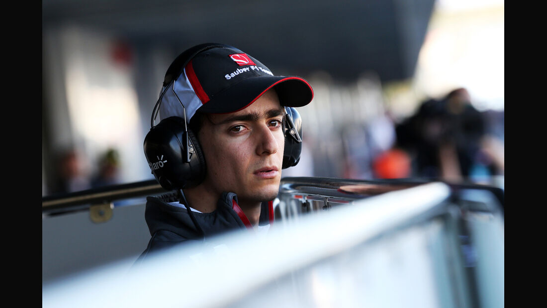 Esteban Gutierrez Sauber F1 Test Jerez 2013 Highlights