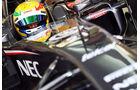 Esteban Gutierrez - Sauber - Formel 1 - Bahrain - Test - 21. Februar 2014