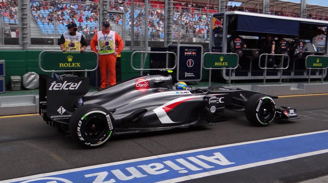 Esteban Gutierrez - Sauber - Formel 1 - GP Australien - 15. März 2013