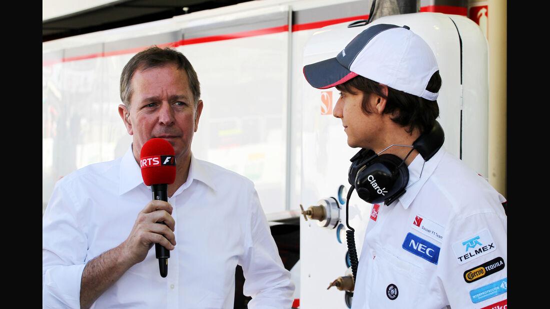 Esteban Gutierrez - Sauber - Formel 1 - GP Brasilien - Sao Paulo - 23. November 2012