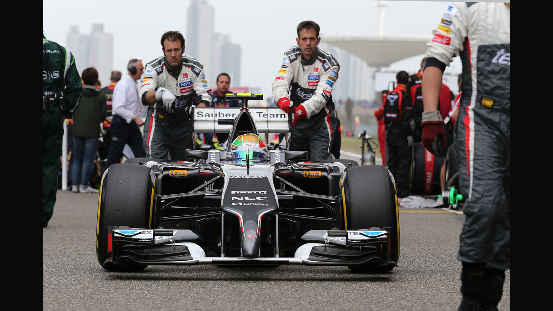 Esteban Gutierrez - Sauber - Formel 1 - GP China 2014