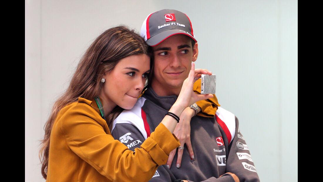 Esteban Gutierrez - Sauber - Formel 1 - GP China - Shanghai - 17. April 2014