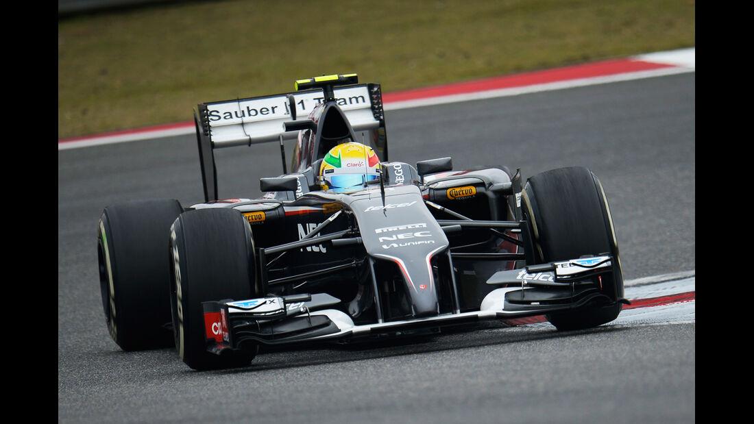 Esteban Gutierrez - Sauber - Formel 1 - GP China - Shanghai - 18. April 2014
