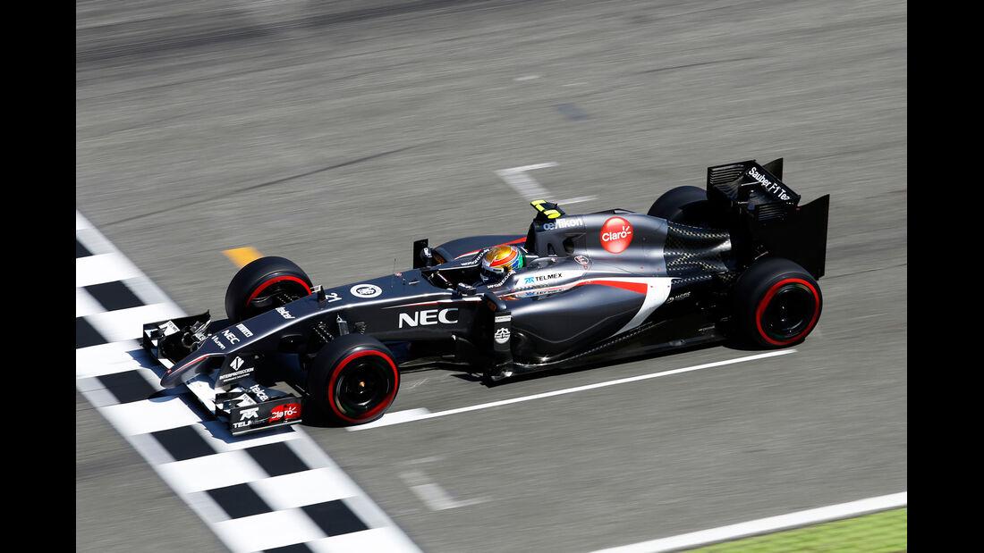 Esteban Gutierrez - Sauber - Formel 1 - GP Deutschland - Hockenheim - 19. Juli 2014