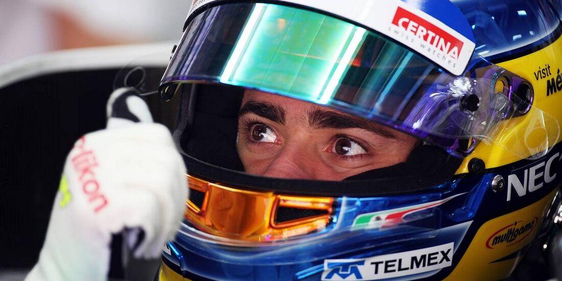 Esteban Gutierrez Sauber - Formel 1 - GP Indien - 26. Oktober 2012