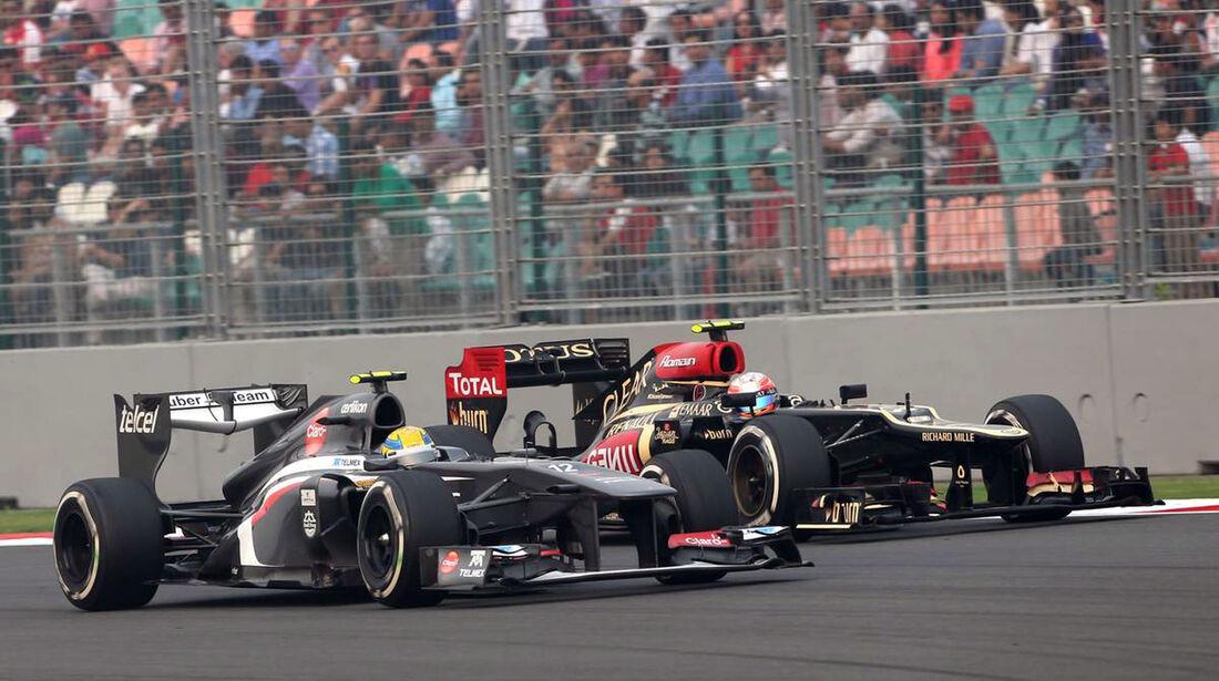 Esteban Gutierrez - Sauber - Formel 1 - GP Indien - 27. Oktober 2013