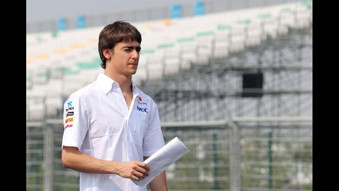 Esteban Gutierrez - Sauber - Formel 1 - GP Indien - Delhi - 24. Oktober 2013