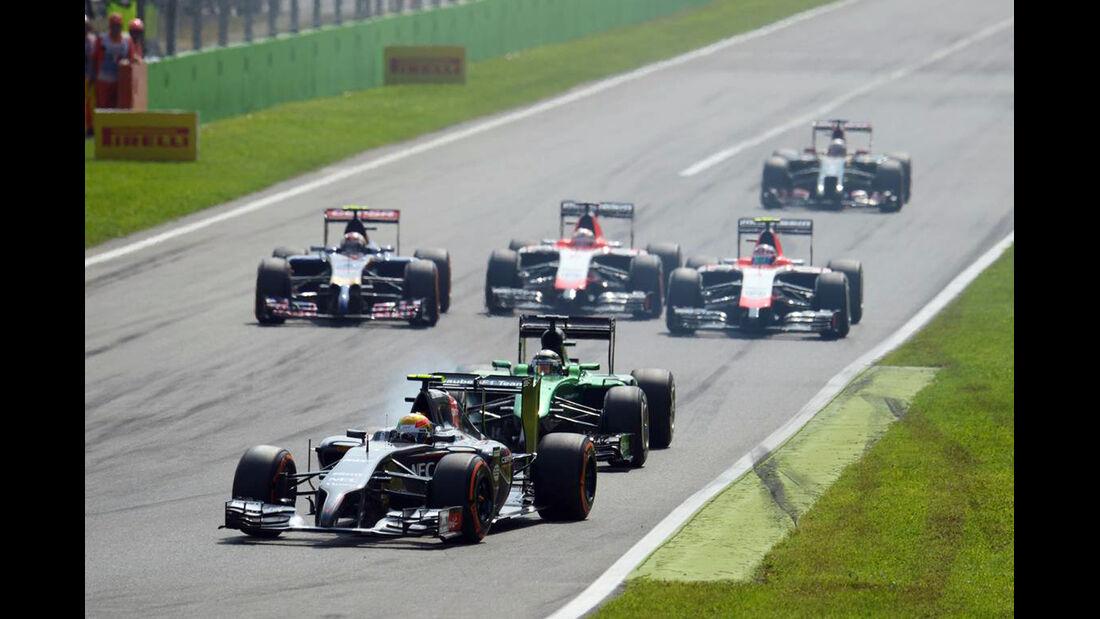 Esteban Gutierrez - Sauber  - Formel 1 - GP Italien - 7. September 2014