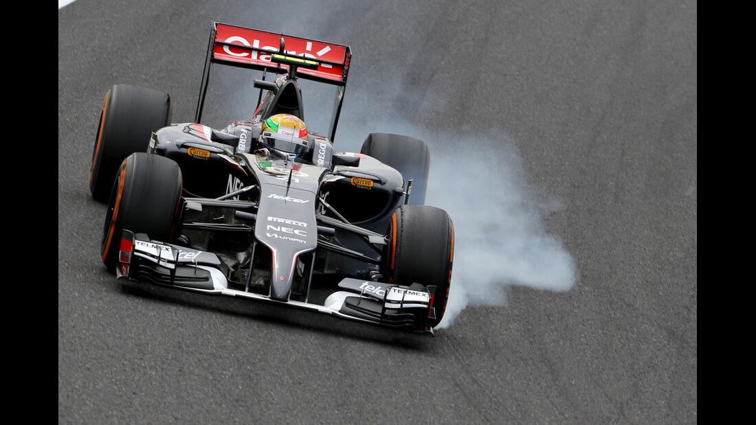 Esteban Gutierrez - Sauber - Formel 1 - GP Japan - Suzuka - 4. Oktober 2014